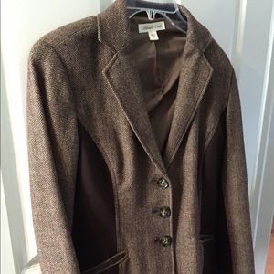 Coldwater Creek brown size 6 jacket